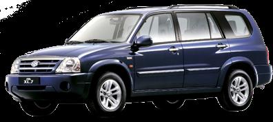 2001 Para levar a família inteira: o Grand Vitara XL-7 inovou e trouxe mais espaço na cabine, agora para sete pessoas. Sem falar na rodagem confortável e no desempenho off-road apurado. O modelo foi baseado na versão 5 portas do Grand Vitara, sendo o menor SUV de sete lugares da categoria. Ainda neste ano, a Suzuki firmou uma parceria com a General Motors para desenvolver células de combustível.