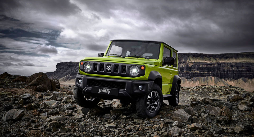 Suzuki jimny Sierra 4You MT ALLGRIP 1